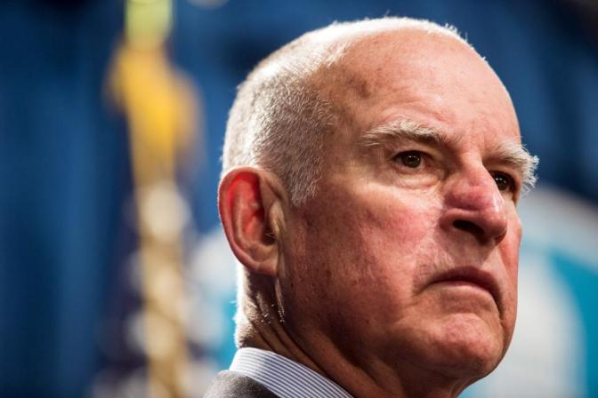 Governor Jerry Brown Slams Trump Over Ignorant Climate Policies