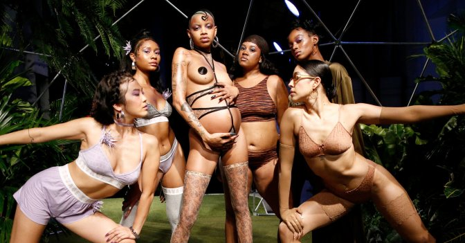 The Definition Of Inclusive, Rihanna Raises The Bar With Savage X Fenty Lingerie Show