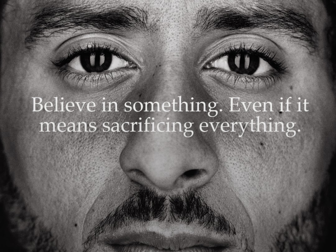 Colin Kaepernick The Official Face Of Nike