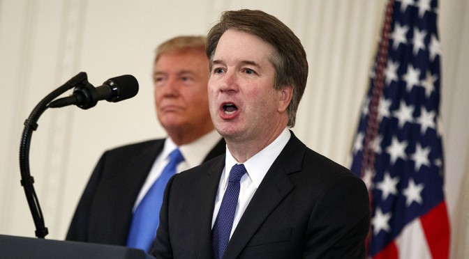 Trump Doesn't Rule Out Withdrawing Kavanaugh Nomination