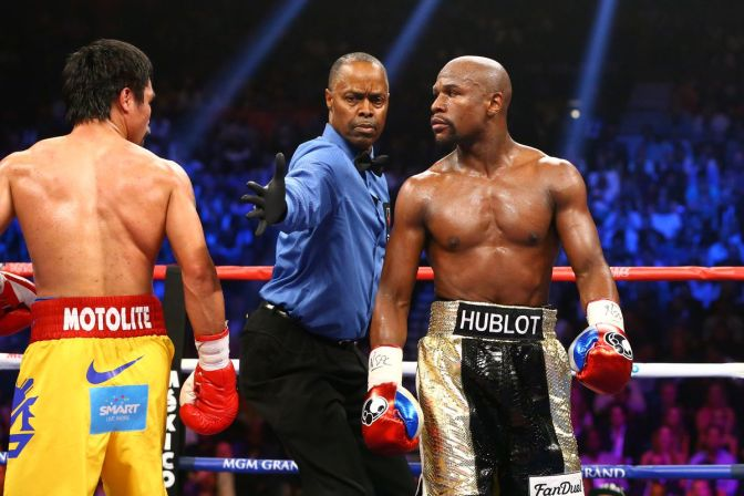 Pacquiao Fight Could Bring Floyd Mayweather Out Of Retirement