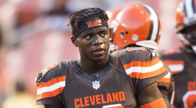 Browns Parting Ways With Josh 'Flash' Gordon