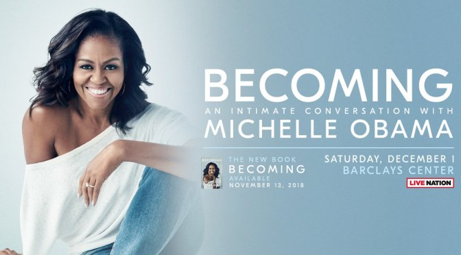 "Former First Lady Michelle Obama Memoir ""Becoming"""