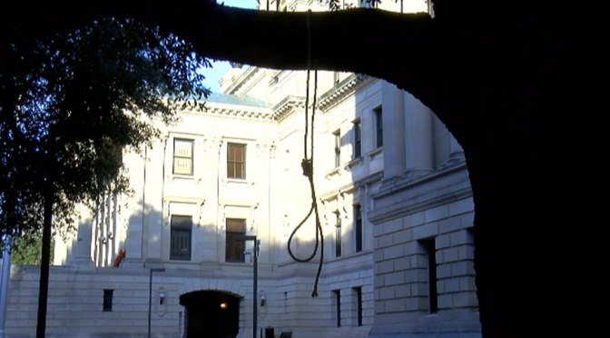 Nooses, Hate Signs Found At Mississippi State Capitol