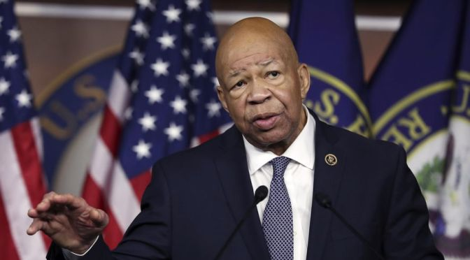 Rep. Cummings Vows To Make Mueller Investigation Findings Public