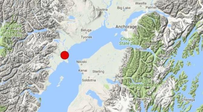 Large Earthquake Rocks Anchorage, Tsunami Warning In Effect