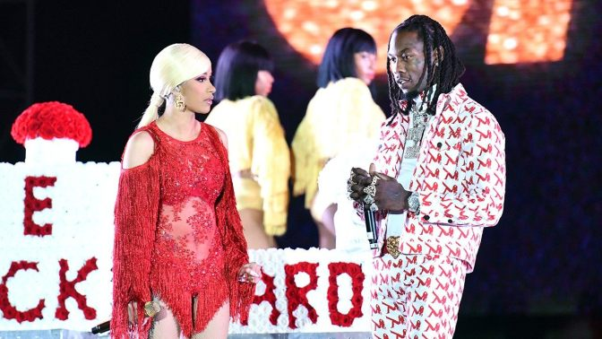 Offset Explains Why He Crashed Cardi B's Set At Rolling Loud