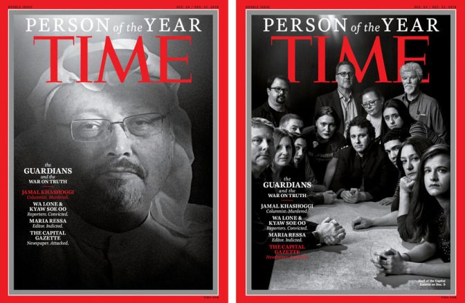 Jamal Khashoggi Leads The Pack As TIME Honors Journalists For Person Of The Year
