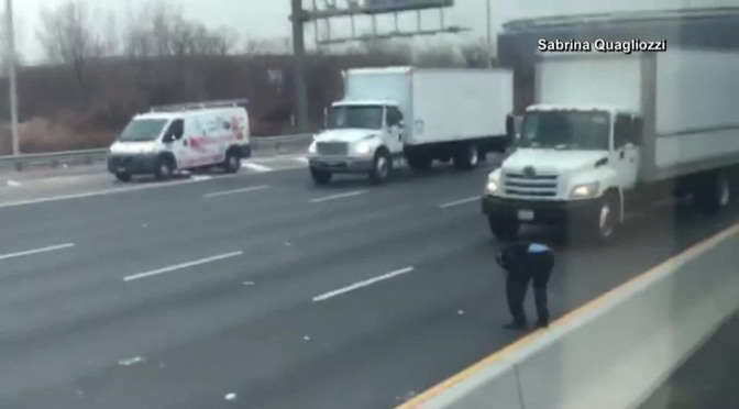 Police Say Close To Three-Hundred-Thousand-Dollars Fell Out Of Brinks Truck On New Jersey Highway