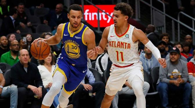 Splash Brothers Plus One: Big Three Puts Atlanta Away Early