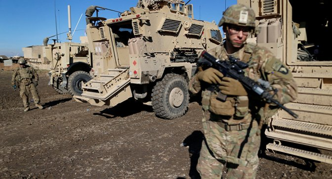 U.S. Troops Begin Syria Pullout