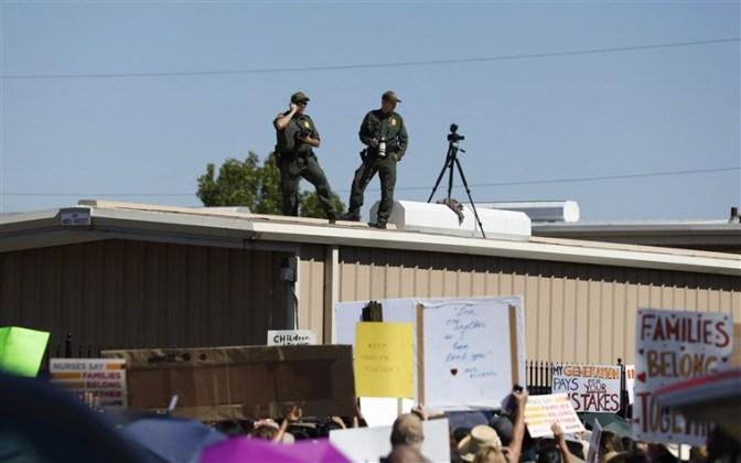 El Paso Detainees Being Force-Fed