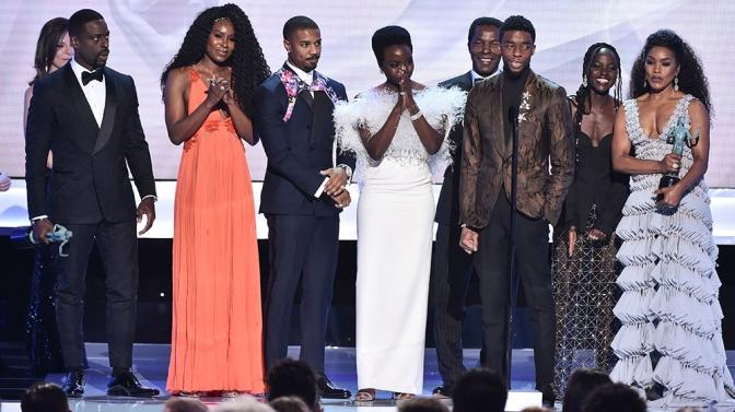 """Black Panther"""" Wins Big At SAG Awards"""