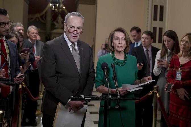 U.S. Senator Schumer Discusses Impact Of Shutdown For NY