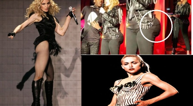 Madonna Responds To Claims She Got Butt Implants