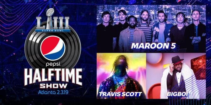 Maroon 5 To Perform At Super Bowl Halftime Show With Travis Scott And Big Boi