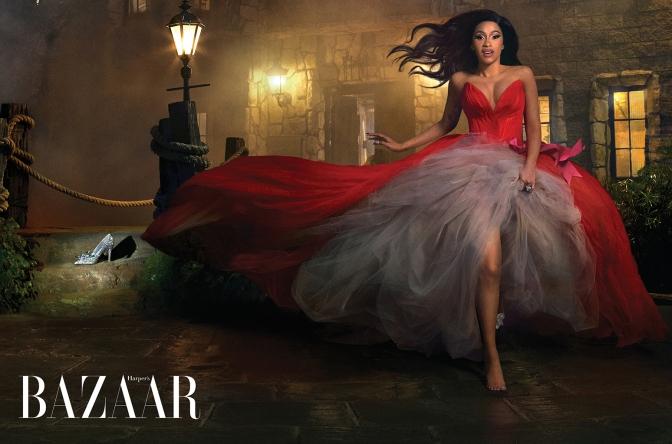 Cardi B Turns Harper's Bazaar Fight Into Cover