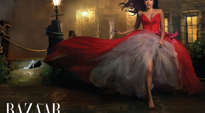Cardi B Turns Harper's Bazaar Fight Into Cover