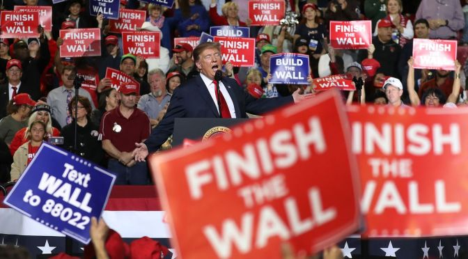 """As Donald Trump Says, """"I Didn't Need To Do This"""", He Declares A National Emergency For Border Wall"""