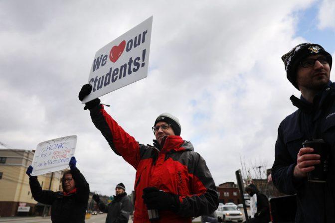 West Virginia Teachers Strike Gets Quick Victory