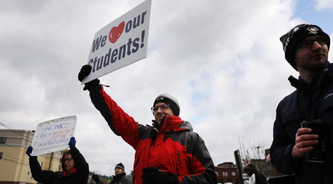 West Virginia Teachers Strike Gets Quick Victory