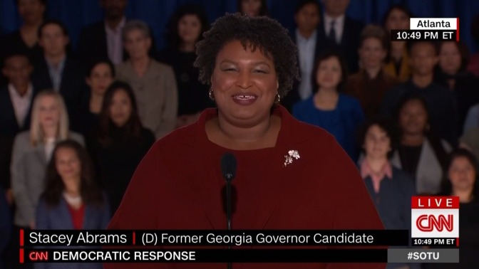 Stacey Abrams Makes History Giving Democratic Response