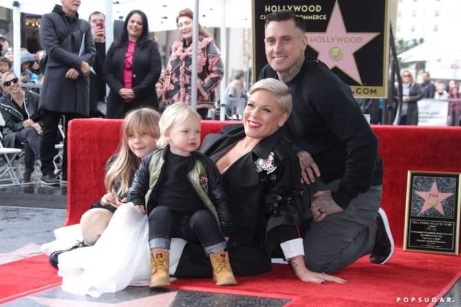 Pink gets Star On Hollywood Walk Of Fame
