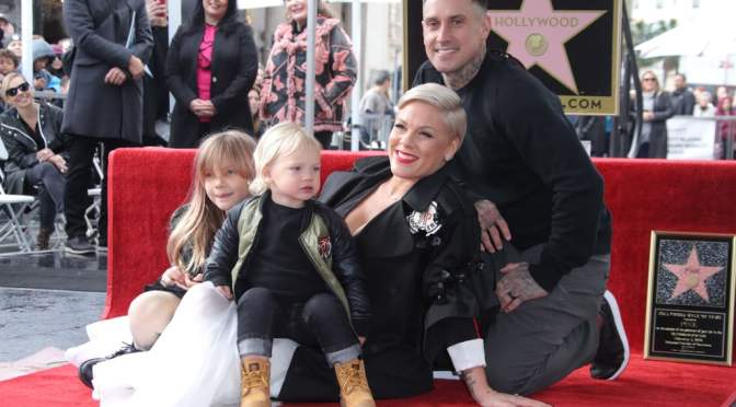 Pink gets Star On Hollywood Walk Of Fame