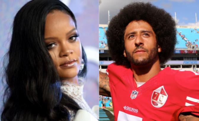 Colin Kaepernick Reacts To Rihanna's Super Bowl Boycott