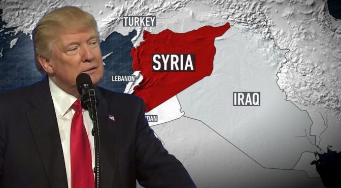 Trump Not Reversing Course In Syria