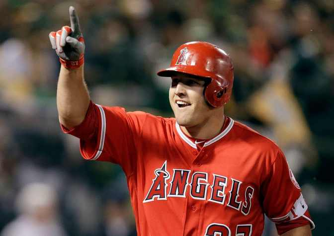 Trout, Angels Finalize Record $426.5 Million, 12-Year Deal