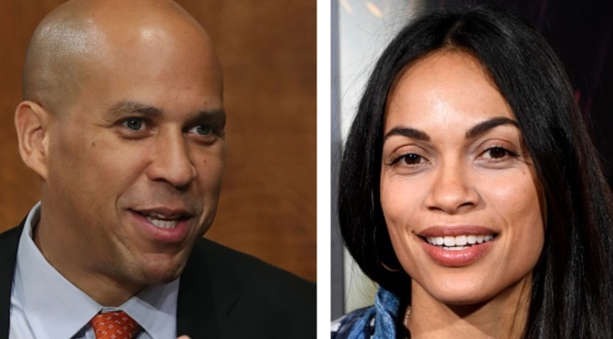 Rosario Dawson Confirms Relationship With Sen. Cory Booker