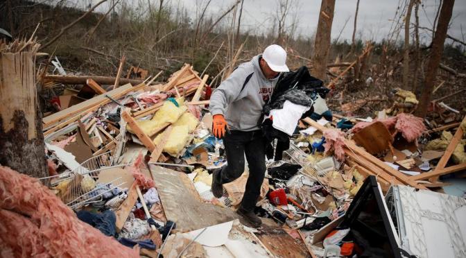 23 Dead in Alabama Tornadoes