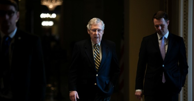 Senate Leader Blocks Resolution Demanding Release Of Mueller Report