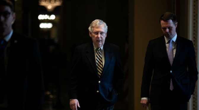 Senate Leader Blocks Resolution Demanding Release Of Mueller Report