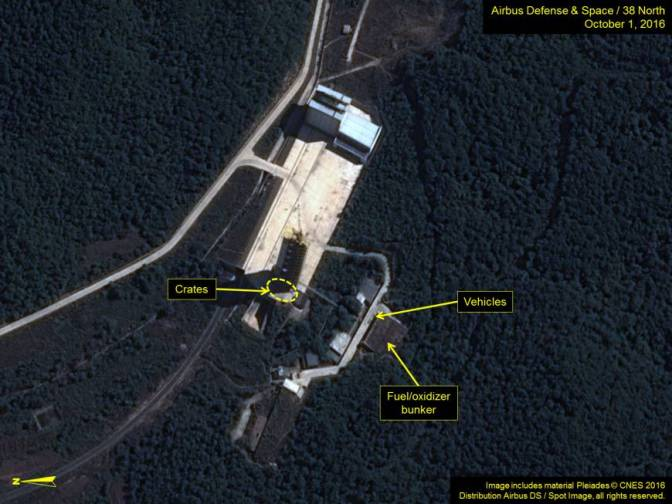 Experts Say North Korea Is Rebuilding Rocket Test Site