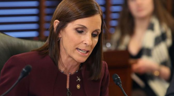 Air Force Won't Investigate McSally Rape Disclosure Without Her Cooperation