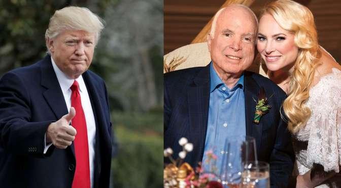 Meghan McCain Unloads On Trump