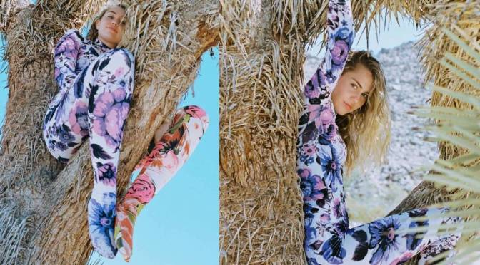 Miley Cyrus Criticized For Photos Sitting In Joshua Trees
