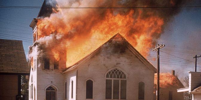 FBI Probes Fires At LA Black Churches