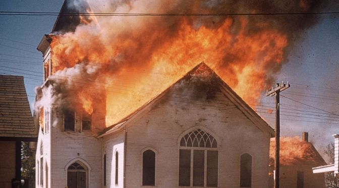 FBI Probes Fires At LA Black Churches