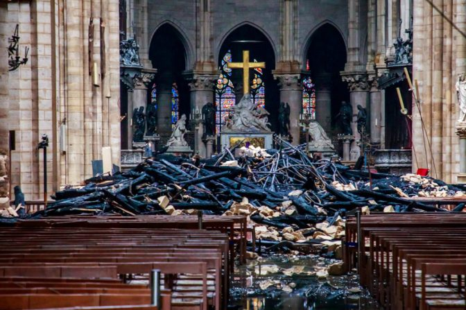 Almost $1 Billion Dollars Donated For Restructure of Paris Cathedral, Paris Mayor Says Crown Of Thorns, Other Relics Were Saved From Notre Dame Fire