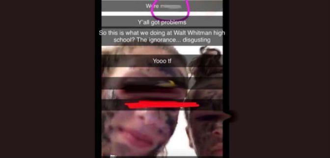 Maryland High School Students Wear Blackface, Use Racial Slur In Social Media Post