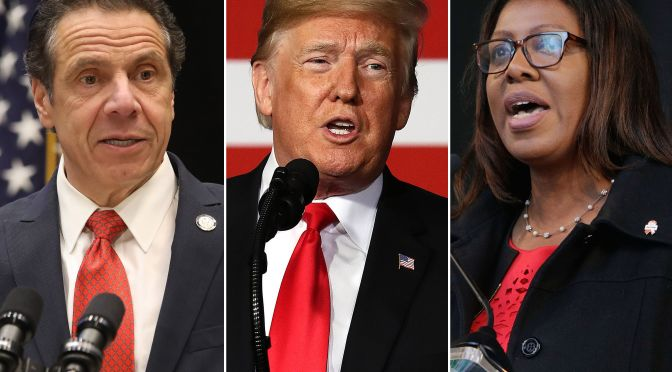 Governor Cuomo Comments On NRA Investigation, Trump As Suspected Calls Foul