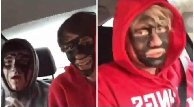 Racist Chicago Students Post Video Of Them In Blackface Harassing African American Fast Food Employee