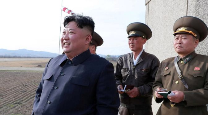 North Korea Claims Test Of New Weapon