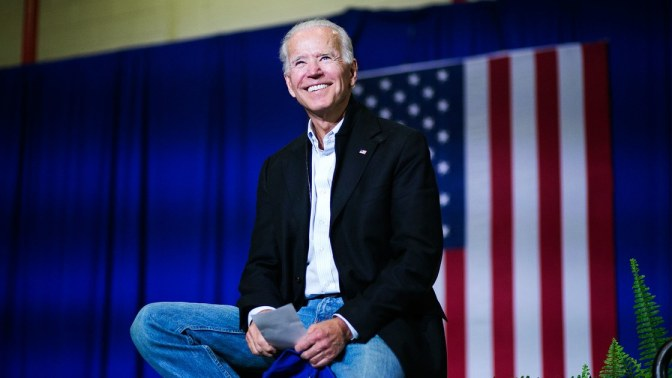 Biden: Running To Help Restore Soul Of Nation
