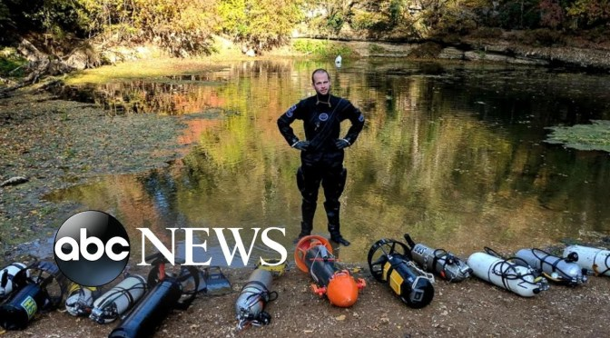 Diver Who Helped Rescue Thai Soccer Team Rescued From Tennessee Cave