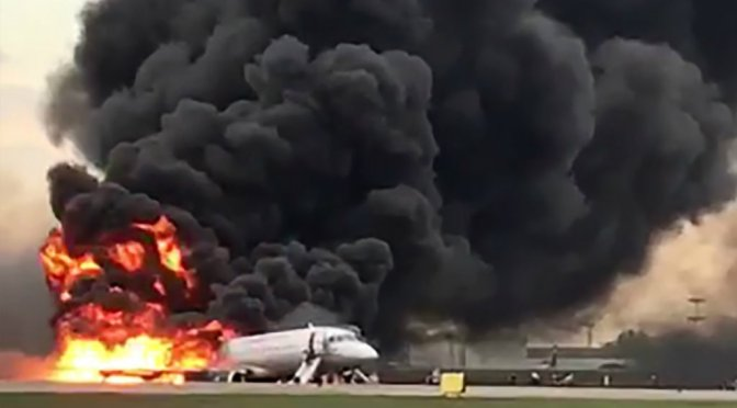 Over 40 Dead In Russian Airplane Fire