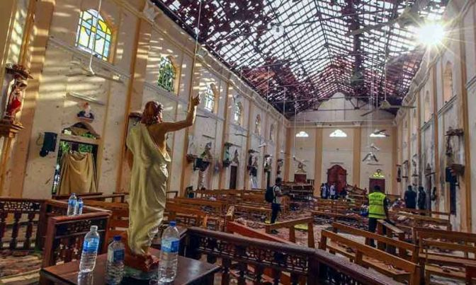 Sri Lanka Police: All Easter Attacks Suspects Dead Or Captured